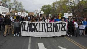 Manifestacja Black Lives Matter