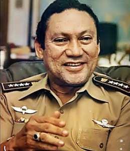 """Jeden z """"wybitnych absolwentów"""" School of the Americas Manuel Noriega/fot. Wikimedia Commons"""