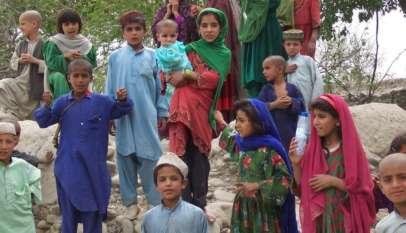 Dzieci w Afganistanie / fot. Wikimedia Commons