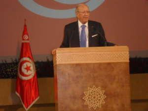 Al-Badżi Ka'id as-Sibsi, prezydent Tunezji, jeden z twórców Wezwania Tunezji / fot. Wikimedia Commons