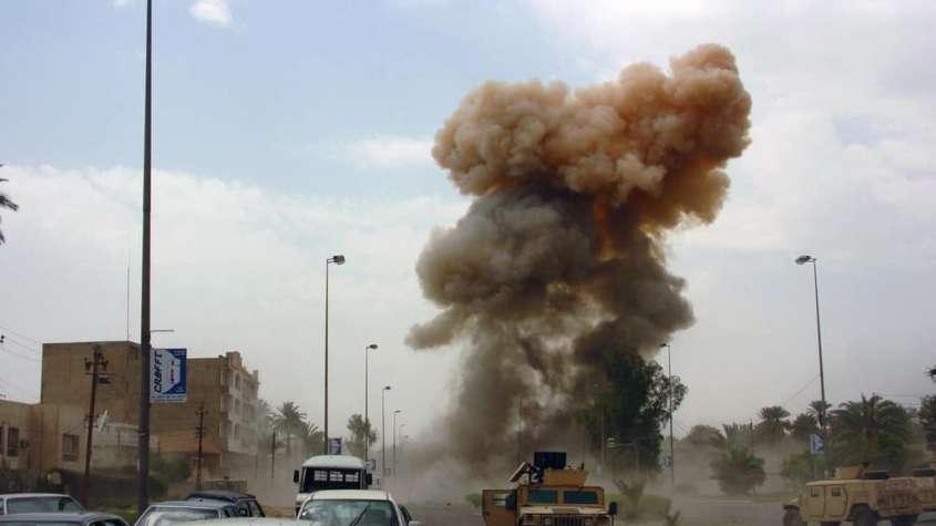 Irak zniszczony przez wojnę z terroryzmem / fot. Wikimedia Commons