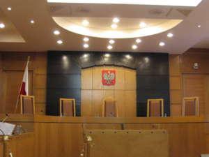 Trybunał Konstytucyjny - sala obrad, fot. wikimedia commons