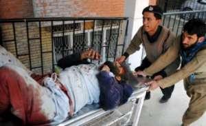 Jedna z ofiar zamachu / Facebook.com/TalibanPakistani