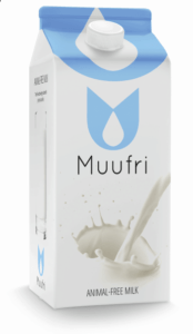 """Karton mleka """"niezwierzęcego"""" firmy Muufri / Żródło: oficjalny profil Twitter firmy."""