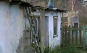 Ruina, w której mieszka rodzina Rasałów