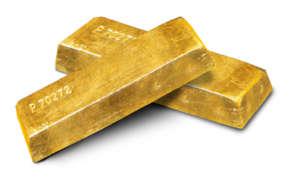 Sztabki złota / Żródło: Wikimedia Commons