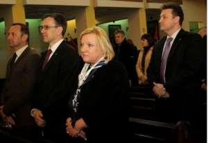 Beata Kempa gwarantuje, że dzięki nieżyjącemu papieżowi pielgrzymi będą bezpieczni/Facebook.com/Beata Kempa