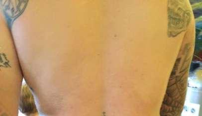 Tatuaż Marcela Zecha / Źródło: Facebook, Documenting Anti-Semitism