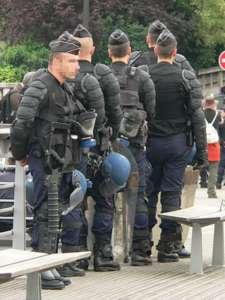 tłumienia demonstracji. / Źródło: Wikimedia Commons