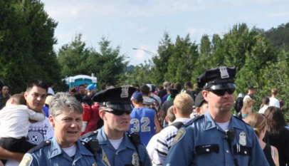 Amerykańscy policjanci / fot. Wikimedia Commons