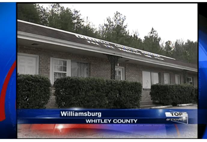 Kadr z reportażu dot. schroniska w Williamsburgu wyemitowanego przez telewizję WYMT.