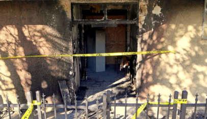 Zniszczony meczet w Coachella na Florydzie / fot. mintpressnews