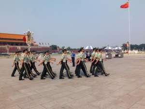 Plac Tienanmen, Chiny, fot. pixabay.com/ SylwiaWetzel