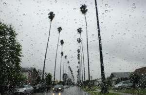 Ulica w Los Angeles podczas rekordowej ulewy / facebook.com/latimes