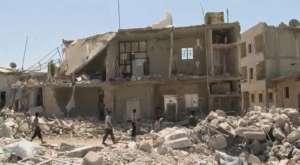Zrujnowane Aleppo / fot. Wikimedia Commons