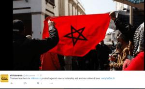 W kolejnym arabskim kraju trwają antyrządowe protesty/ twitter.com