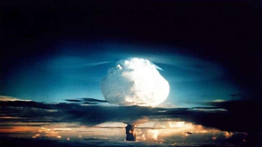 Wybuch bomby wodorowej / fot. Pixabay