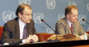 Daniel Fried (z lewej) / fot. United States Mission Geneva