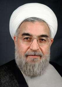 Prezydent Iranu Hasan Rouhani / fot. Wikimedia Commons