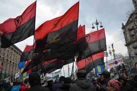 Manifestacja Kongresu Ukraińskich Nacjonalistów / fot. Wikimedia Commons