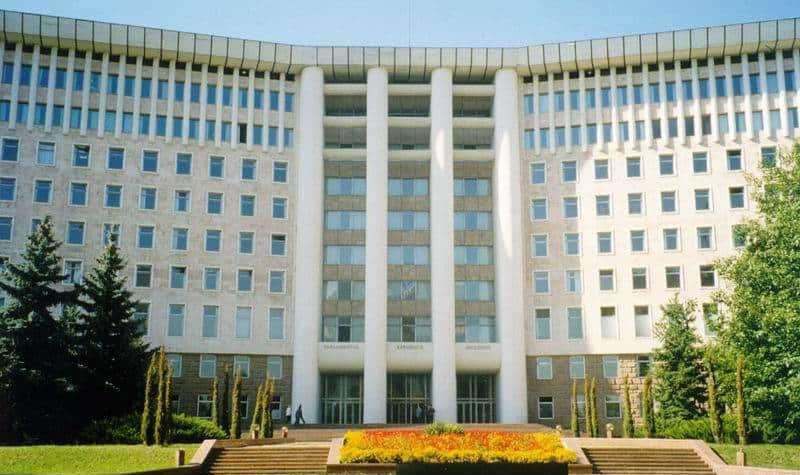 Siedziba mołdawskiego parlamentu. / Żródło: Wikimedia Commons.