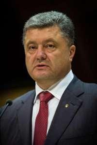 Prezydent Ukrainy Petro Poroszenko / fot. Wikimedia Commons