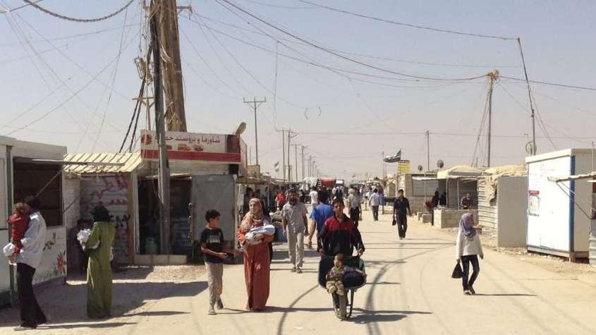 Zatari - jeden z państwowych jordańskich obozów dla uchodźców / fot. Flickr/foreignoffice