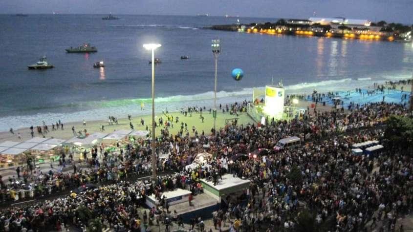 Światowe Dni Młodzieży w Brazylii w 2013 r., też dotowane przez państwo / fot. Wikimedia Commons