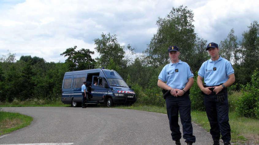 Francuscy policjanci. Fot. Wikimedia Commons