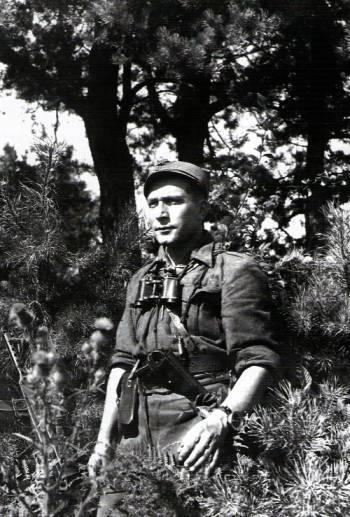 """Romuald Rajs, ps. """"Bury"""", 1943 r. / Źródło: Wikimedia Commons"""