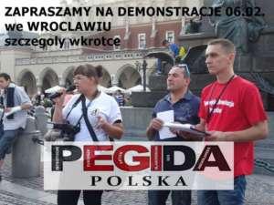 Rasistowska demonstracja na którą zapraszali członkowie polskiej Pegidy jednak nie dojdzie do skutku / facebook.com/Pegida-Polska