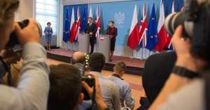 Dziś David Cameron podejmie negocjacje z Beatą Szydło oraz Jarosławem Kaczyńskim. fot. flickr.com/KPRM
