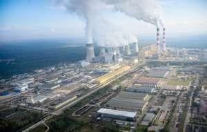 Bełchatowski gigant widziany z lotu ptaka / wikipedia commons