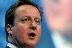 Premier UK David Cameron / wikipedia commons