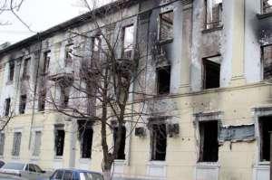 Zniszczony Mariupol /fot Wikimedia Commons