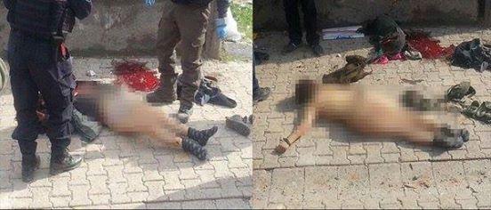 Zdjęcie udostępnione przez tureckich żołnierzy w sieciach społecznościowych, obraz częściowo zniekształcony. / Źródło: Facebook/SaveKobane