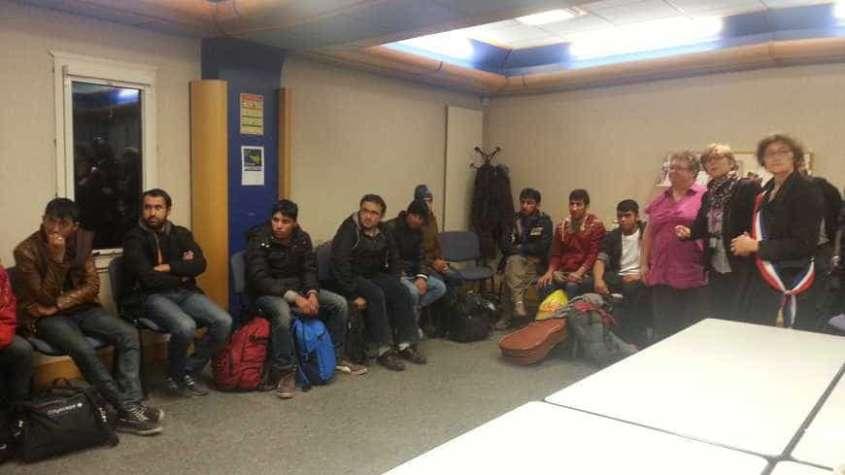 Uchodźcy w Bretanii / fot. francebleu.fr