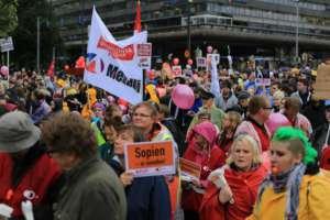 Antyrządowy protest w Helsinkach, fot. wikimedia commons