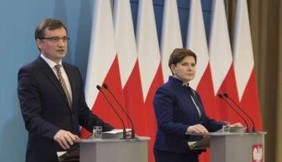 Konferencja Beaty Szydło i Zbigniewa Ziobro