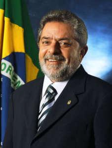 Lula jako prezydent Brazylii / fot. Wikimedia Commons