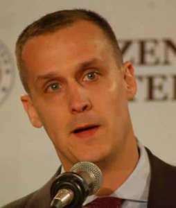 Corey Lewandowski, Polak z pochodzenia, jest oskarżony o fizyczną napaść na dziennikarkę podczas wiecu Donalda Trumpa/facebook.com