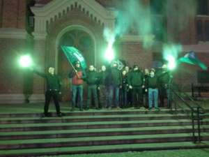 Paramilitarne bojówki ONR chcą patrolować ulice Grotników/facebook.com/ONR Łódź
