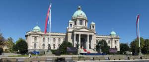 Parlament w Belgradzie / wikipedia commons