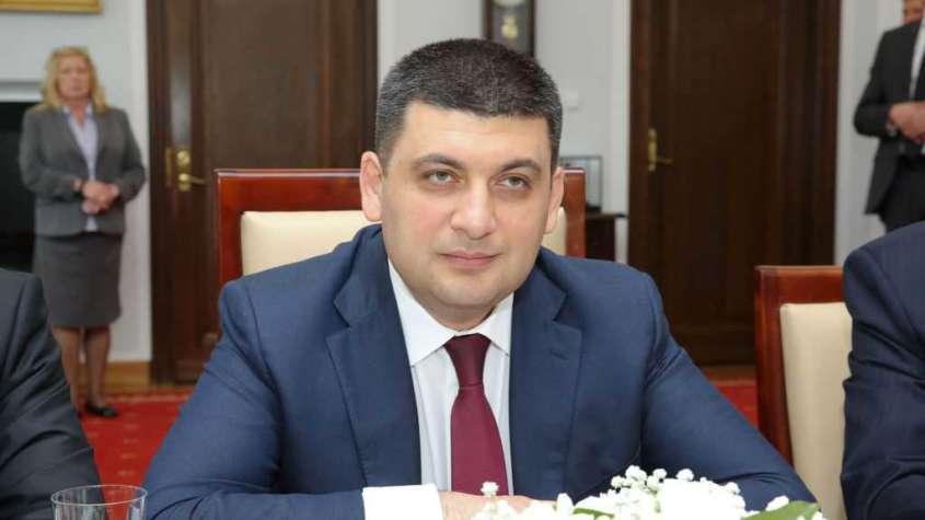 Nowy premier Ukrainy Wołodymyr Hrojsman / fot. Wikimedia Commons