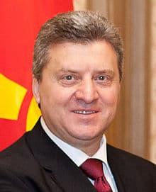 Dziordzię Iwanow, prezydent Byłej Jugosłowiańskiej Republiki Maceodnii. / Źródło: Wikimedia Commons.