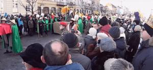 Procesja na Święto Trzech Króli, podczas której doszło do tragedii skłoniła władze Nysy do nowych rozwiązań / youtube.com