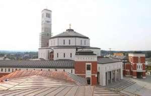 Jeden z budynków Centrum Jana Pawła II / fot. Wikimedia Commons