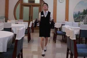 Kelnerka z Korei Północnej w jednej z restauracji / wikipedia commons