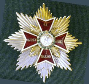 Order Orła Białego, fot. wikimedia commons