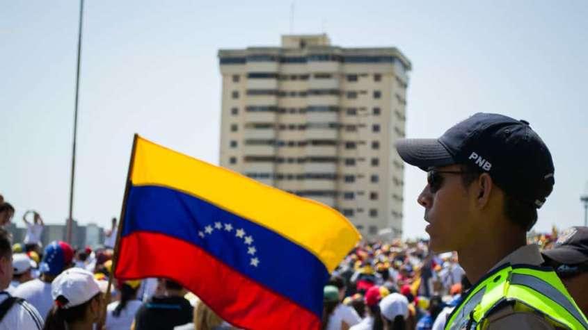 Protest opozycji w Wenezueli, 2015 r. / fot. Wikimedia Commons